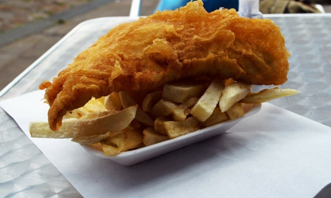 It's Friday – fish and chips day!